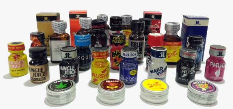 Poppers líquidos o poppers sólidos